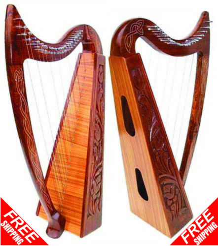 22 Strings Celtic Irish Harp Lap FOLK ( BRAND NEW FREE SHIPPING )