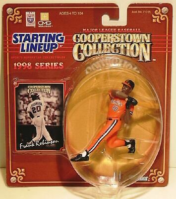 - 1998 KENNER STARTING LINEUP COOPERSTOWN FRANK ROBINSON BALTIMORE ORIOLES - NEW