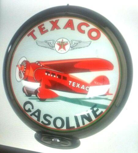 TEXACO GASOLINE AIRPLANE GAS PUMP GLOBE