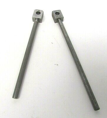 2 Komori Printing Rod Pin Printing Press Parts 444-6664-004 New Genuine Oem