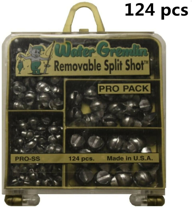 Pro Lead Removable Split Shot Set Sinker Weight for Fishing Tackle Outdoor Sport