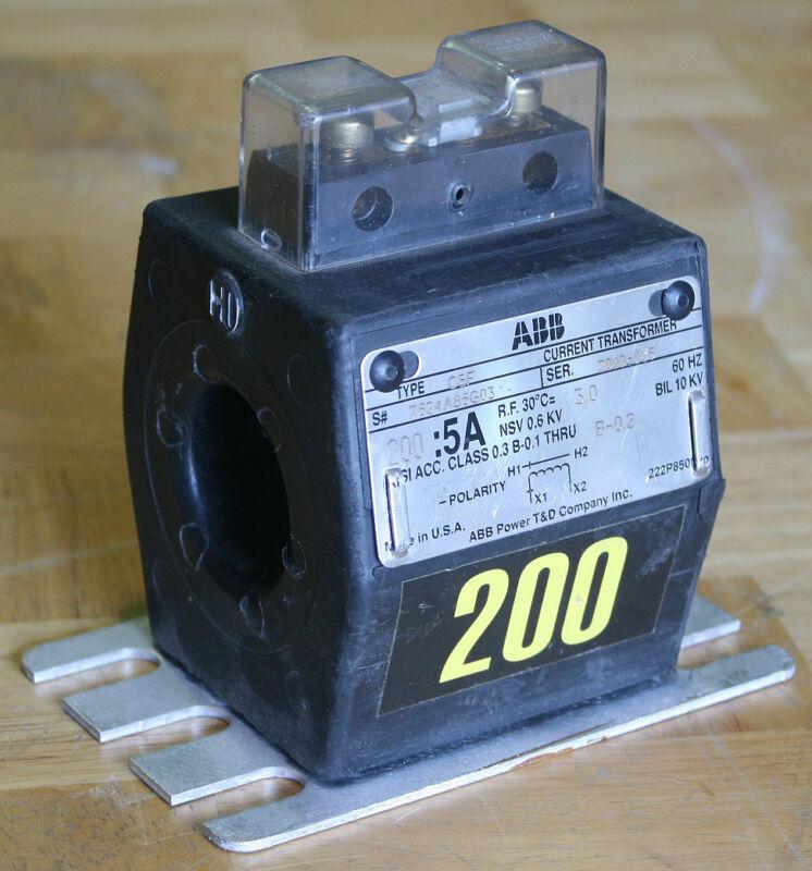 ABB 200:5A Current Transformer - Type CSF