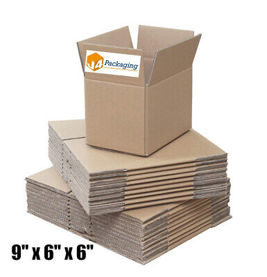 20 x SMALL STRONG DOUBLE WALL POSTAL GIFT MAILING CARDBOARD BOXES 9x6x6
