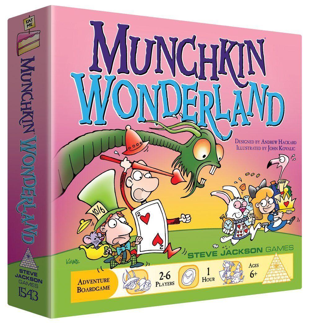 Munchkin Wonderland Board Game