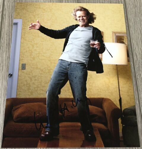 WILLIAM H. MACY SIGNED AUTOGRAPH SHAMELESS FRANK GALLAGHER 8x10 PHOTO B w/PROOF
