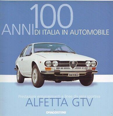 Booklet ALFA ROMEO ALFETTA GTV rare 30 PAGES