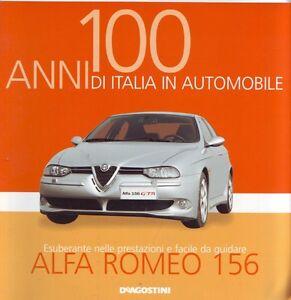 Booklet-ALFA-ROMEO-156-rare-30-PAGES
