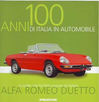 Booklet ALFA ROMEO DUETTO rare 30 PAGES