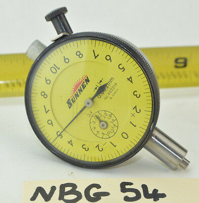 Sunnen 4s2219 Dial Indicator 6 Jewels 0.002mm Bore Gage Dial Indicator ....