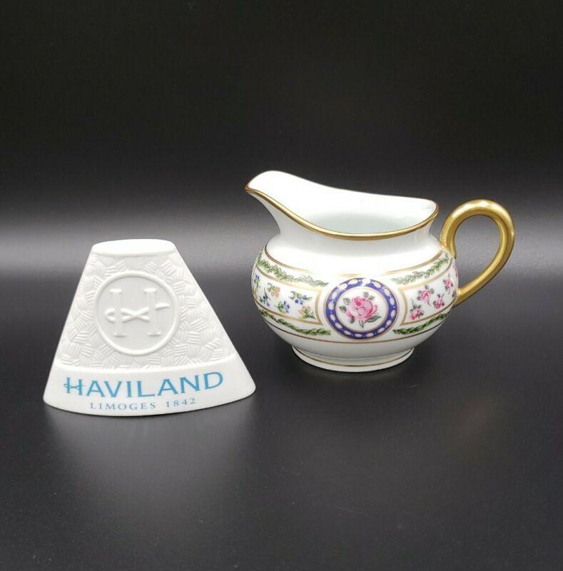 Haviland LOUVECIENNES Creamer MINT