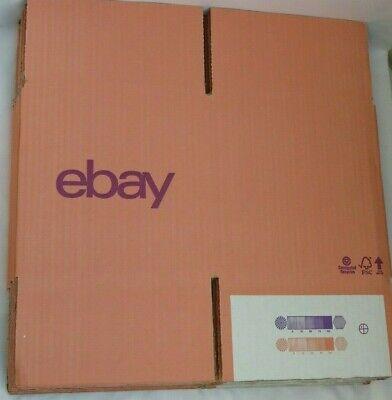 "10 x Salmon / Purple ❤️ Branded CARDBOARD POSTING BOXES ❤️ 7.87"" x 7.87"" x 7.87"""