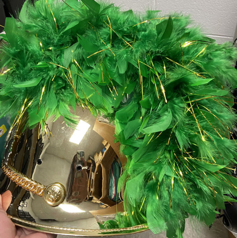 Marching Band Helmets And Phantom Plumes