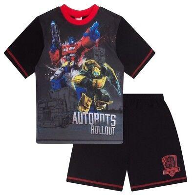 Transformers Optimus Prime and Bumblebee Short Pyjamas PJs Pajamas