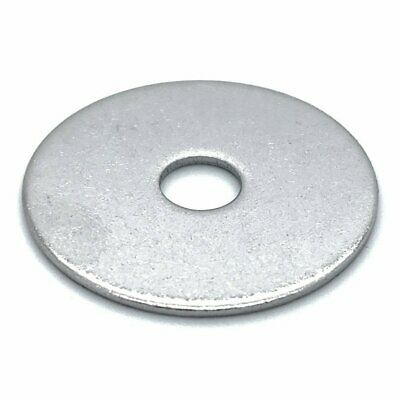 """50 Qty 1/4"""" x 1"""" 304 Stainless Steel Fender Washers"""