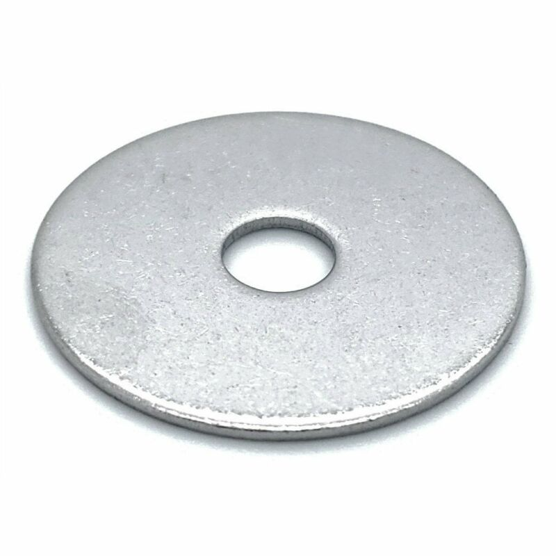 "50 Qty 1/4"" x 1"" 304 Stainless Steel Fender Washers (BCP811)"