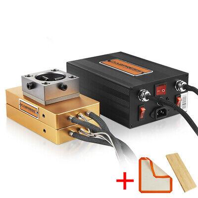 Dabpress 4x7 Rosin Heat Plates Kit - Diy 20-30 Ton Solventless Extraction Kit