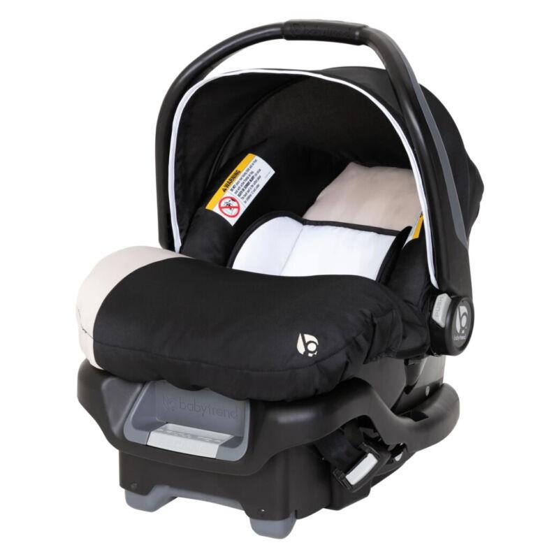 BabyTrend Ally 35 Newborn Baby Infant Car Seat Travel System, Khaki (Open Box)