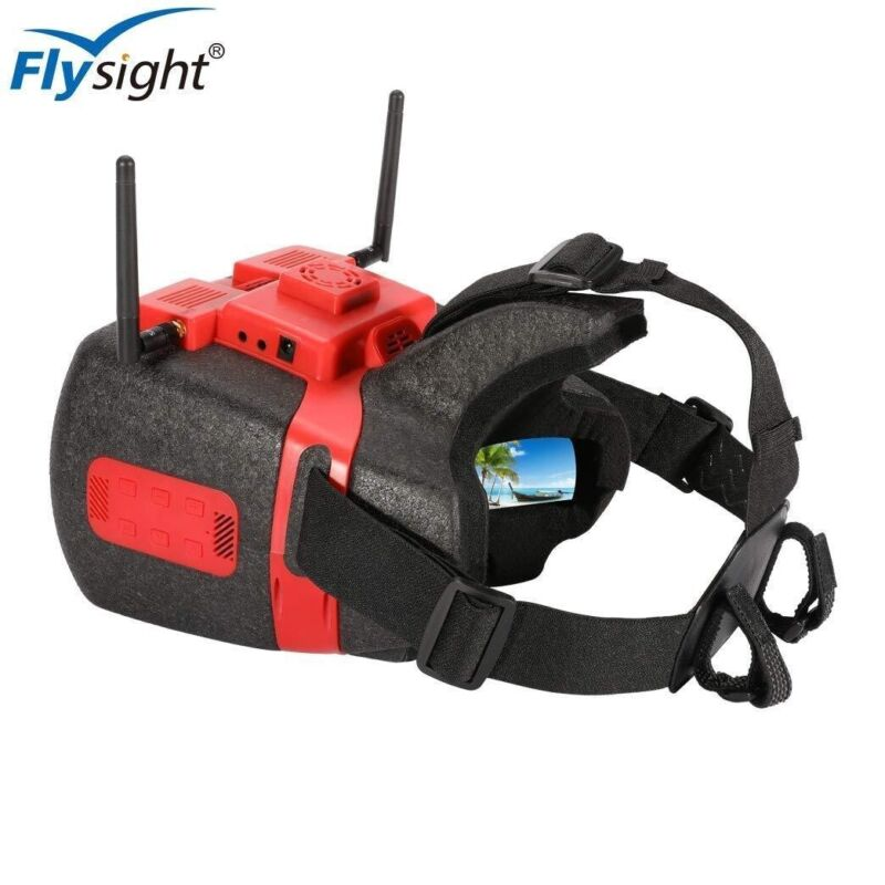 Flysight View Optix HD 5.8ghz Goggles W/ HDMI and AV DVR