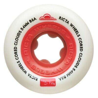 RICTA SKATEBOARD WHEELS 50MM NATURALS 4 PACK FREE POST AUST SELLER