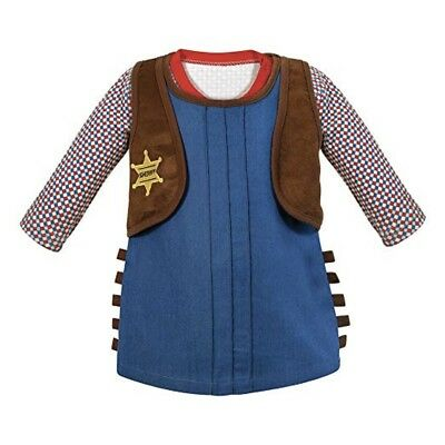 Stephan Baby Cowgirl Sheriff Outfit Costume Size 12-18 Months New with Tags](Cowgirl Sheriff Costume)