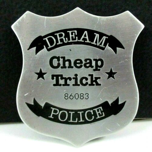 Cheap Trick DREAM POLICE Pin Back from CHEAP TRICK AT BUDOKAN, Epic PROMO (1979)
