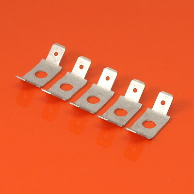 """High Quality 6.3mm Electrical Earth Double Connector Tabs 1/4"""" Lucar VW Porsche"""