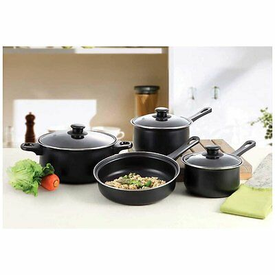 Carbon Steel Nonstick 7 Piece Cookware Set