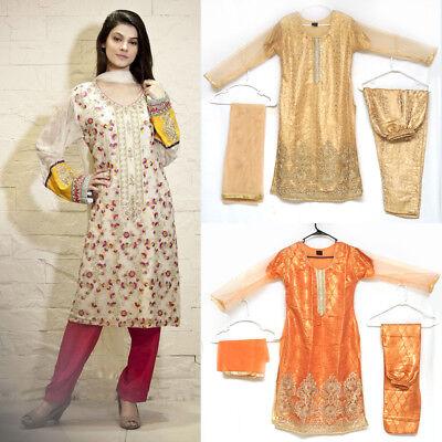 Women Indian Party Designer Pakistani Dress Wedding Bollywood Fancy Fashion - US