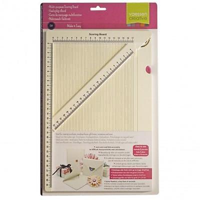 FALZBRETT Scoring Board DIN A4 VAESSEN mit CM mit beweglichem Lineal 2137-032