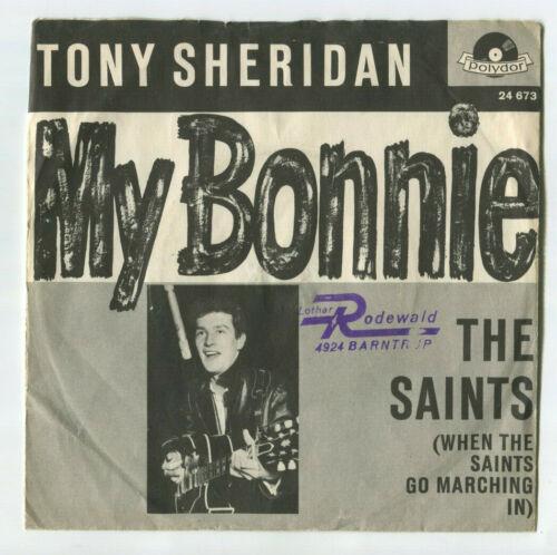 Tony Sheridan MY BONNIE GERMAN INTRO (Beatles Hamburg Days) Picture Sleeve