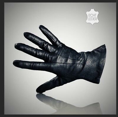 NEUE: Echt Leder Damen Finger Handschuhe Schafsnappaleder Gr. 7,5 und 8