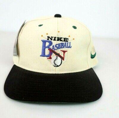 Nike Hat SnapBack 90s Vintage Niketown Sewn Baseball Cap NEW NWT