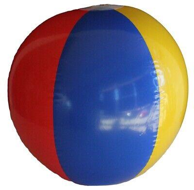 Bulk Lot 96 x Rainbow Beach Ball Inflatable Toys Assorted Colours Blow Up Kids