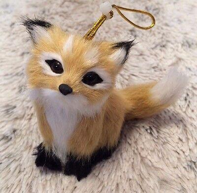 Woodland Animal Christmas Tree Ornament Golden Fox