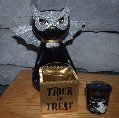 2016 Yankee Candle Spooktacular Sophia Trick or Treat! Sold Out! w/ 1 tealight!