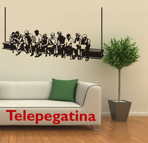 Vinilo decorativo para pared 100x60 wall sticker new york for Stickers decorativos de pared