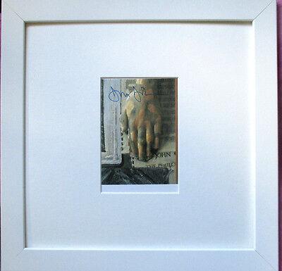 JASPER JOHNS >Perilous night< HAND-SIGNIERT, orig. hand signed, + Rahmen