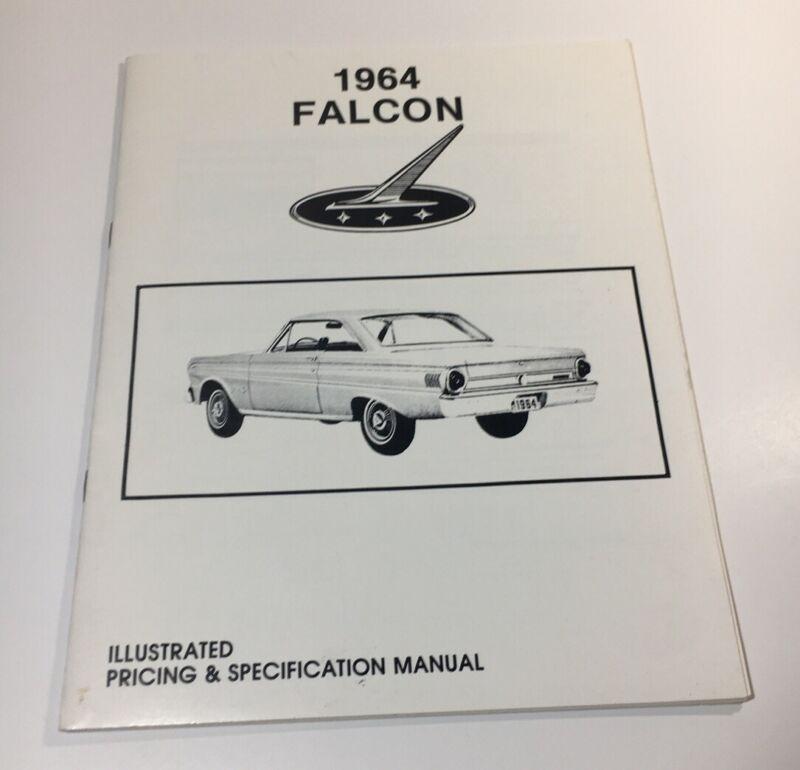 1964 Falcon Illustrated Pricing & Specification Manual Rare