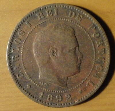 1892 Portugal 10 Reis