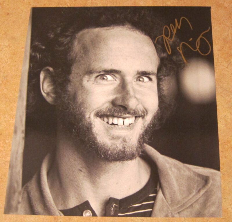 Robby Krieger - Signed book photo, The Doors.