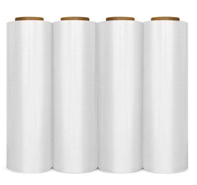 Hand Stretch Wrap - Clear Blown Hand Stretch Wrap Plastic Shrink Film Choose Your Rolls & Size