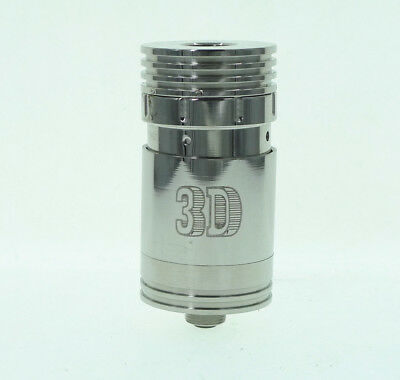 3D Auto RDA RBA Rebuildable Dripper Adjustable Airflow Dripping Mech DIY Tank