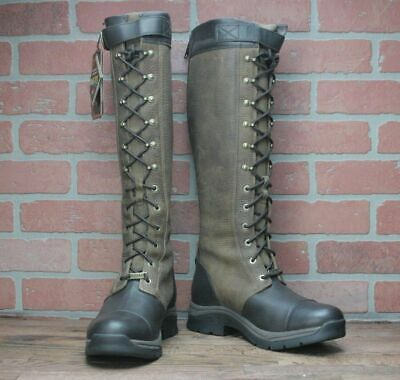 ARIAT BERWICK GTX LEATHER BOOT GORE-TEX INSULATED EBONY 10016398 Size 6.5 B Insulated Combat Boot