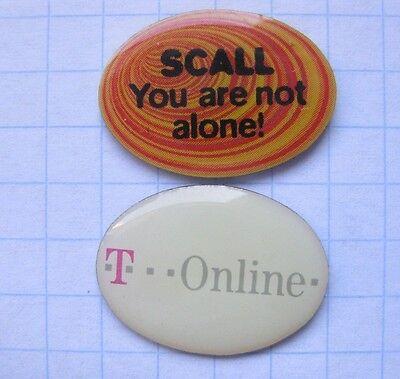 DEUTSCHE TELEKOM / SCALL T ONLINE   ......... Pins (120b)