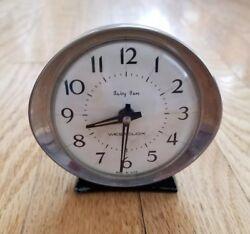 Vintage Metal Westclox Baby Ben Alarm Clock Black