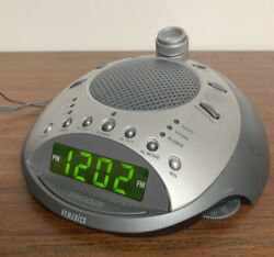 HoMedics SoundSpa Classic White Noise 6 Nature Sounds Alarm Clock Radio SS-4000