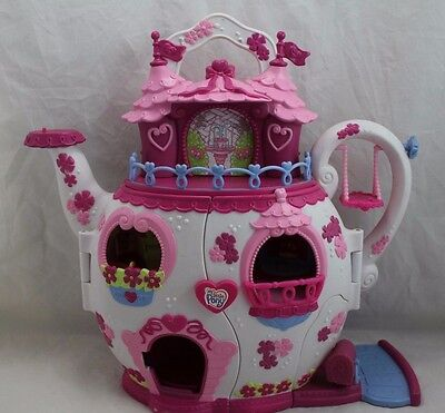 My Little Pony Teapot House w/Music and Lights working