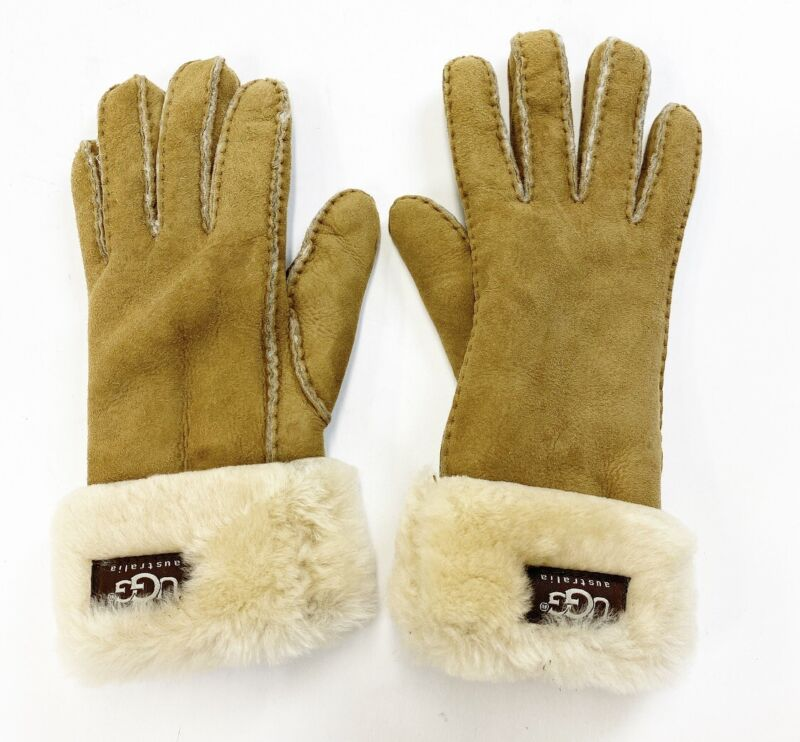 UGG Australia Shearling Gloves Size Small