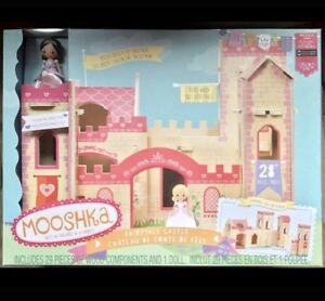 GREAT GIFT! NEW Wooden Fairytale Castle & Princess Doll Play Set