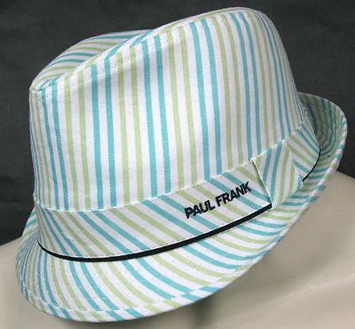 Paul Frank Fedora White Green Blue